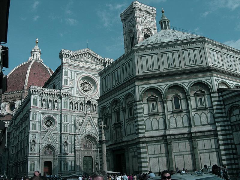 Domplatz in Florenz