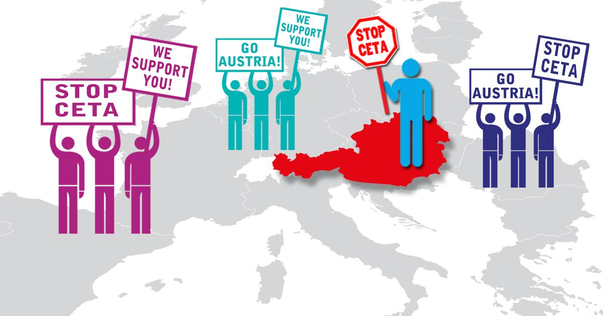Pétition : Chancelier Kern, dites stop CETA!