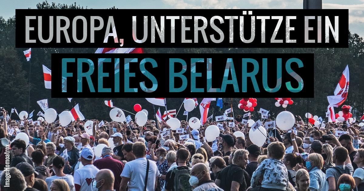 Demo in Belarus