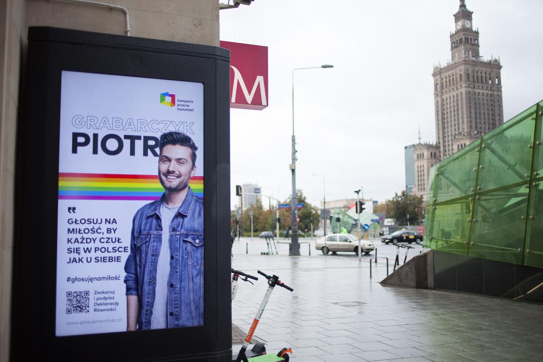 Imagen del poster de apoyo a la comunidad LGTB