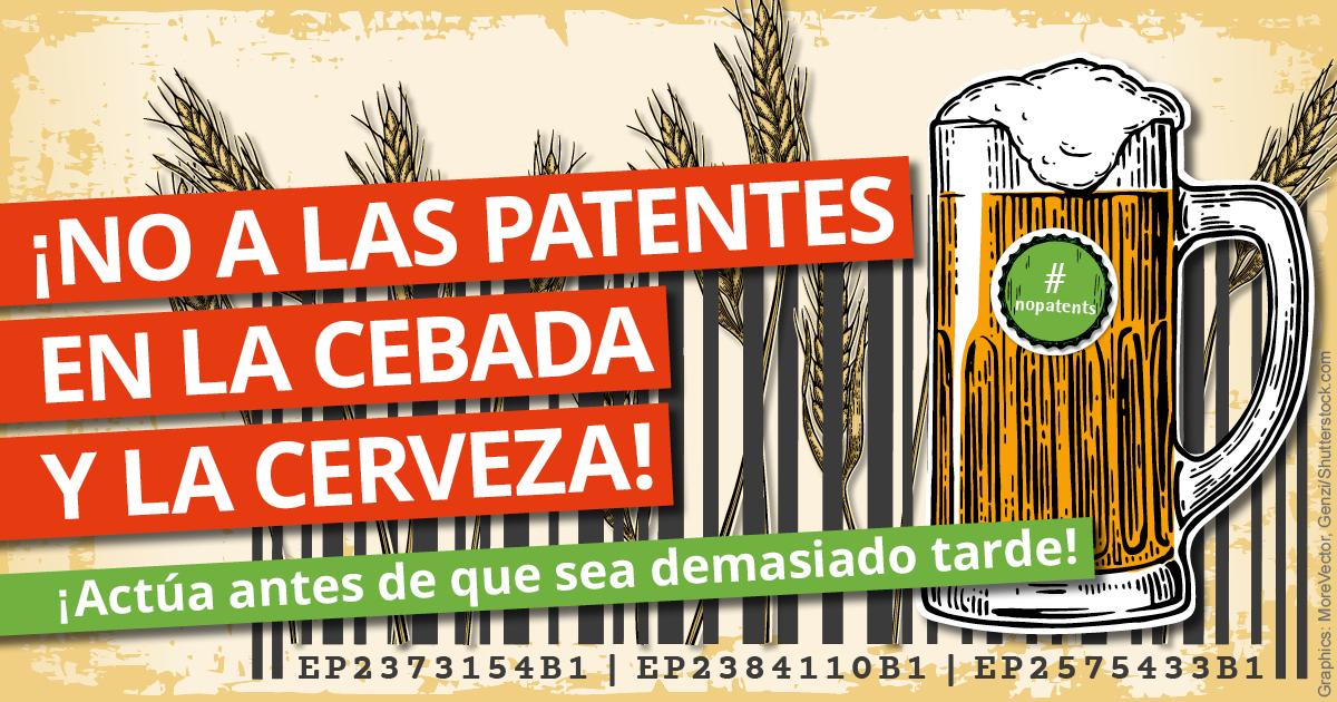 patente cerveza