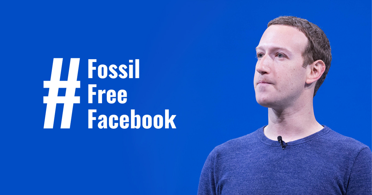 Fossil Free Facebook!